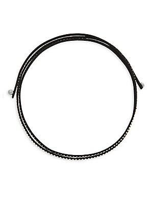 Studded String Necklace