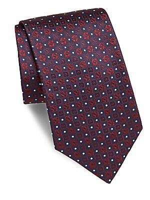 Embossed Silk Tie