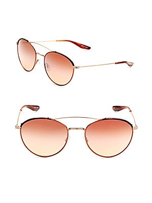 56MM Double-Bridge Sunglasses