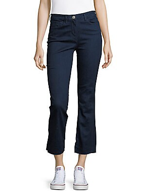 3x1 female cropped bootcut jeans