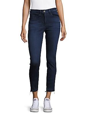 3x1 female cropped skinny jeans