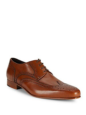 Wingtip Leather Oxfords