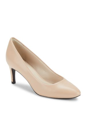 HELEN GRAND LEATHER PUMPS