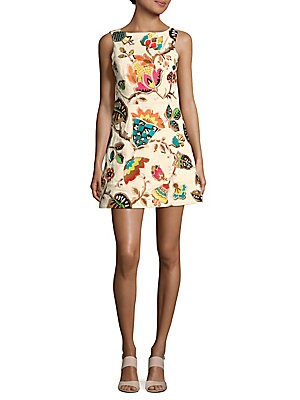 Lindsey Printed Sleeveless Dress