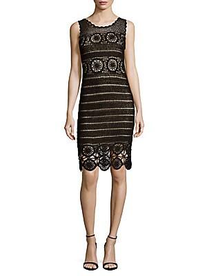 Jeannette Crochet Dress