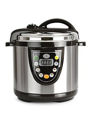 Click here for Stainless Steel Electric Pressure Cooker- 6.3 QT. prices