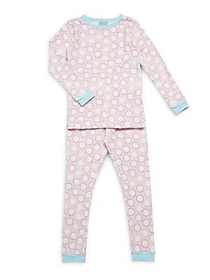 Little Girl's & Girl's Printed Pajama Set