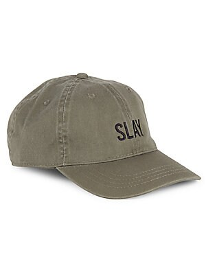 Cotton Slay Embroidered Baseball Hat