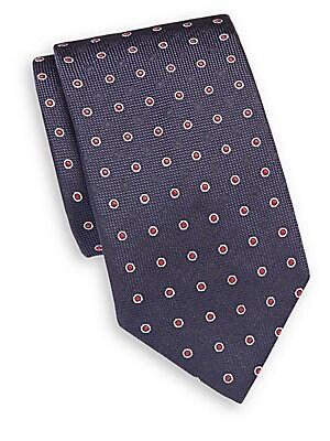 Textured Italian Silk Tie