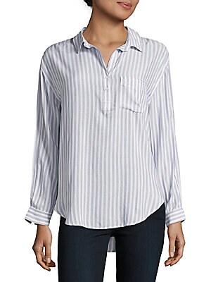 Elle Admiral Striped Shirt