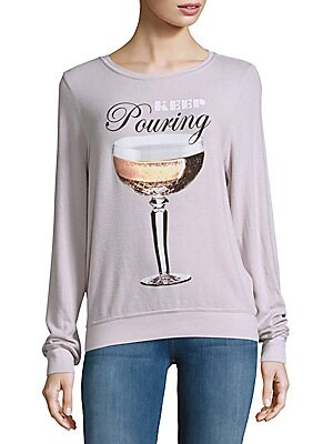 Textured Long-Sleeve Tee