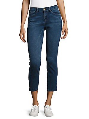 The Karl Cropped Skinny Jeans