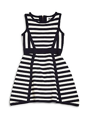 Little Girl's Striped Dress