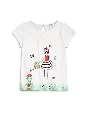 Little Girl's Flower Girl's Tee