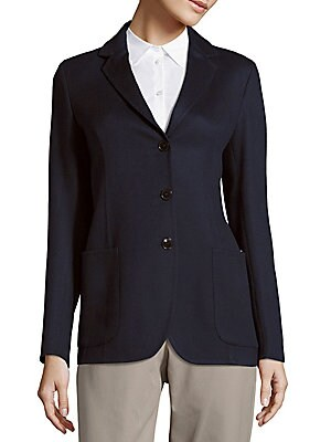 Salon Cashmere Blazer Jacket