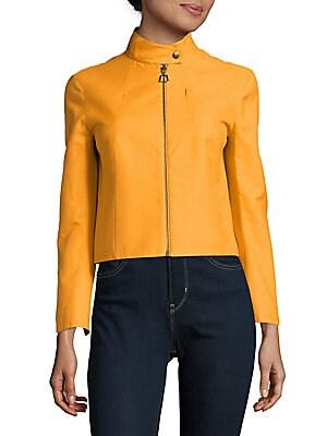Shiver Cotton-Blend Zipper Jacket