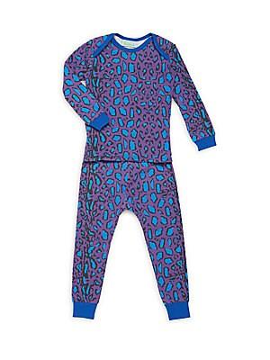 Baby's Two-Piece Printed Pajama Top & Pants Set
