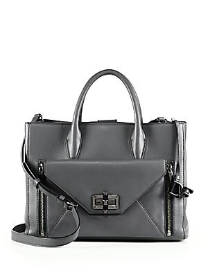 440 Gallery Secret Agent Leather Tote