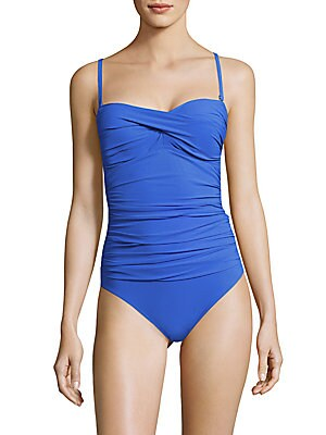 Solid Sweetheart Maillot