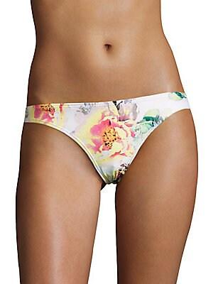 Basic Floral Bikini Bottom