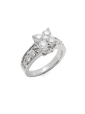 Click here for Diamond & 14K White Gold Ring prices