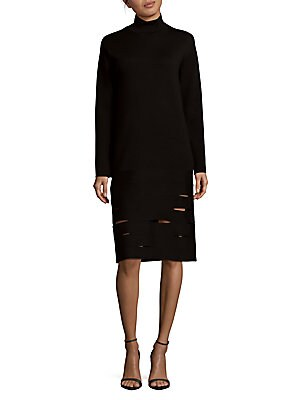 Merino Wool Long Sleeves Dress