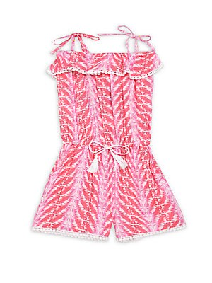 Little Girl's Printed Romper