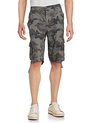 Hansen Camo Cotton Shorts