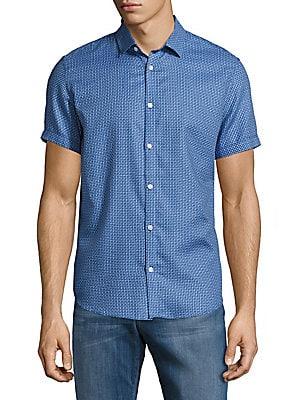 Casual Button-Down Cotton Shirt