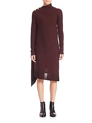 Reanna Asymmetrical Sweater Dress