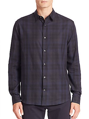 Cotton Plaid Shirt