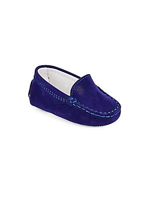 Baby's Gommini Suede Moccasin Loafers