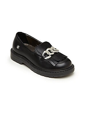 Girl's Front-Detail Loafers
