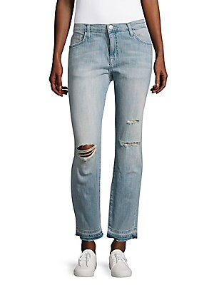 The Fling Washed Distressed Jeans