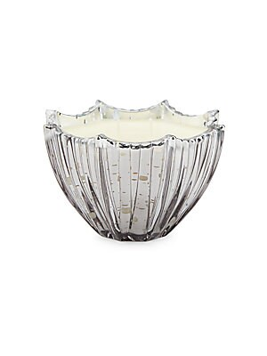 Sparkling Champagne Scallop Candle