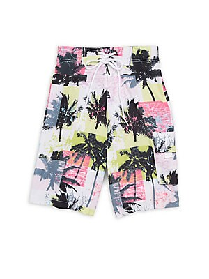 Little Boy's & Boy's True Board Shorts