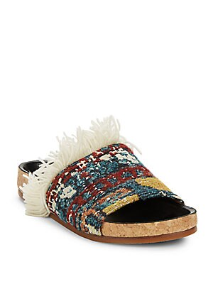 Kerenn Tapestry Slide Sandals
