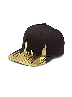 Two-Tone Drip Baseball Cap