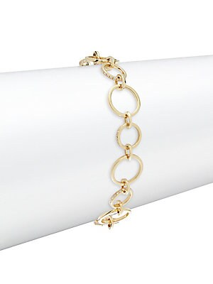 Click here for Diamond & 18K Gold Celestial Chain Bracelet prices