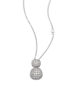 Click here for Dune Diamond & 18K White Gold Pendant Necklace prices