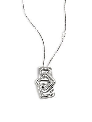 Click here for Link Diana Diamond & 18K White Gold Pendant Neckla... prices