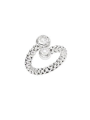 Click here for Stretch Bouquet Diamond & 18K White Gold Ring prices