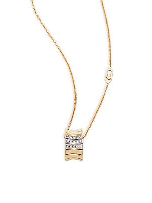 Click here for Supreme Diamond & 18K Yellow Gold Pendant Necklace prices
