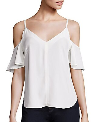 Olivia Cold-Shoulder Top