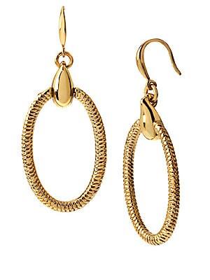 Love Is Life Gemma Oval Drop Earrings