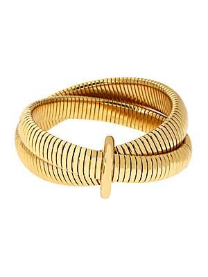 Grand Prix Double Snake Bracelet