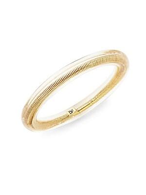 Goldtone Metal & Resin Bangle Bracelet