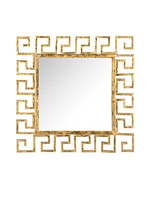 Calliope Greek Key Mirror