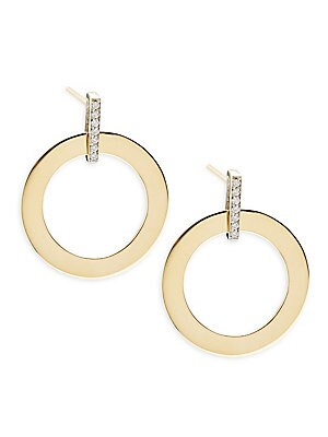 Click here for Diamond & 18K Yellow Gold Chic Earring prices