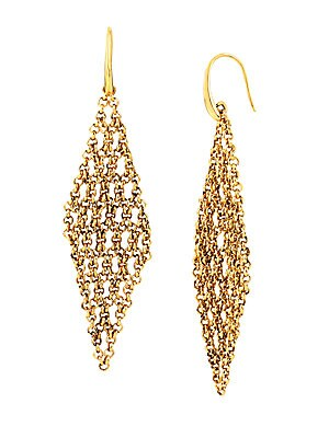 Atlantis Woven Chain Chandelier Earrings